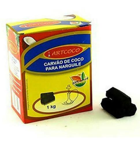 carvão artcoco 1kilo art coco