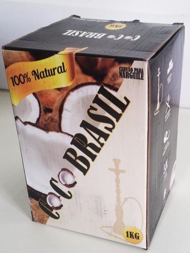 carvão coco brasil - 6kg