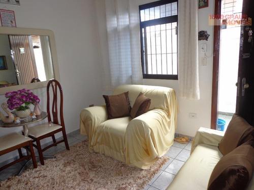 casa 01 dormitório, espaçosa, com garagem. tude bastos (sítio do campo), praia grande. - codigo: ca0074 - ca0074