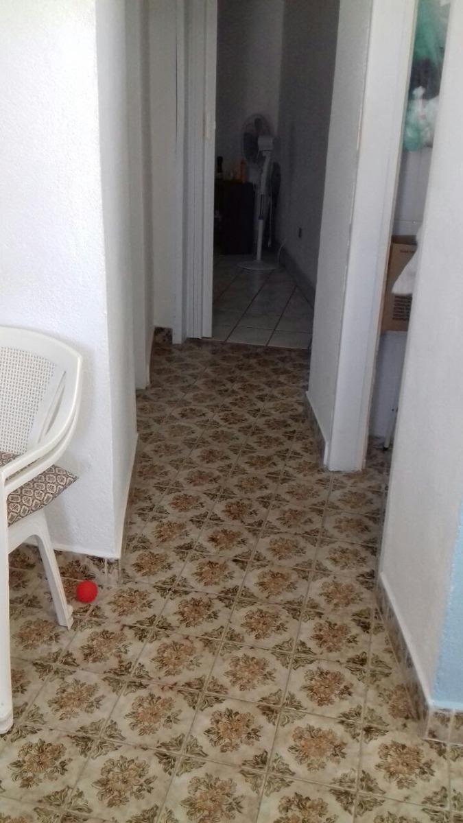 casa 02 dormitórios, lado praia em itanhaém (1011)
