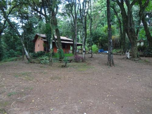 casa 02 quartos, área de preservação e riacho - 379
