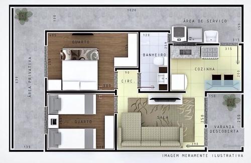 casa 02 quartos - bairro bela vista - ibirité. - 1056