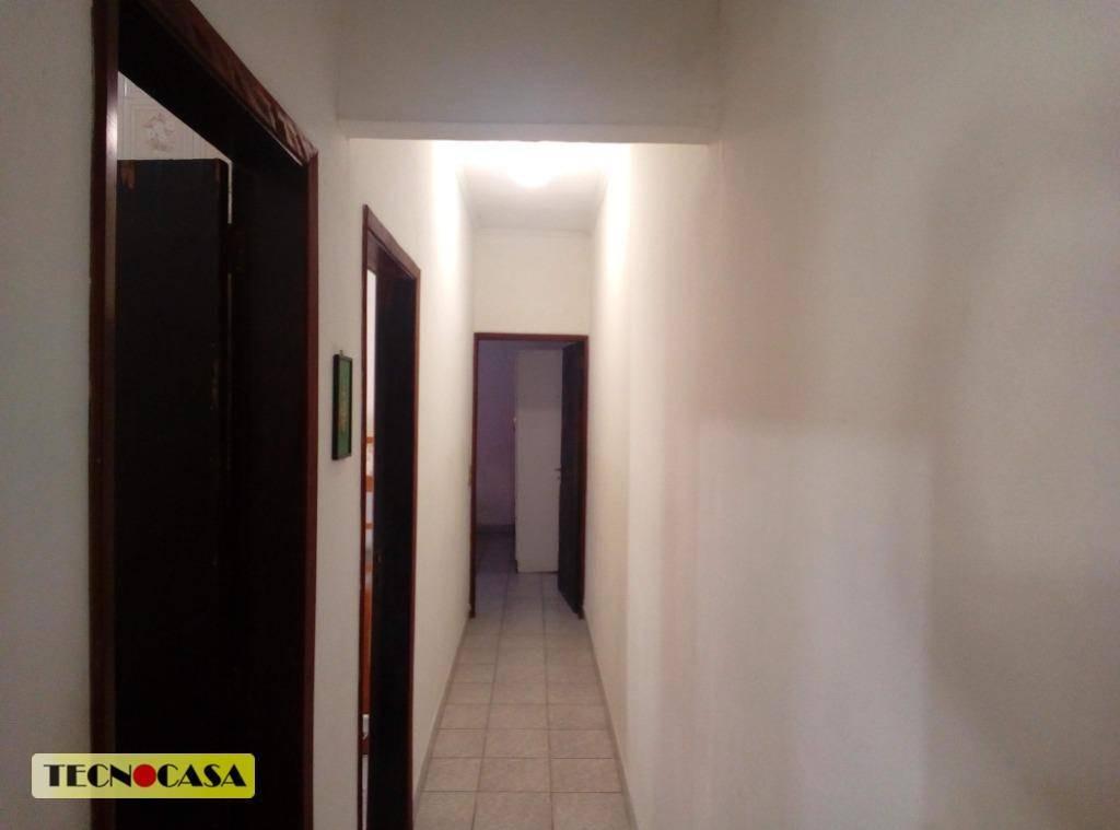 casa 02 quartos mobiliada, frente 5,5 mts, vila tupi ca4463