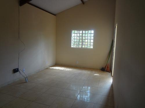 casa 02 quartos, pode ser financiada programa minha casa minha vida - 900