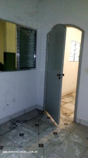 casa 1 dormitório para locação em taboão da serra, jardim maria rosa, 1 dormitório, 1 banheiro - 8134_1-627419