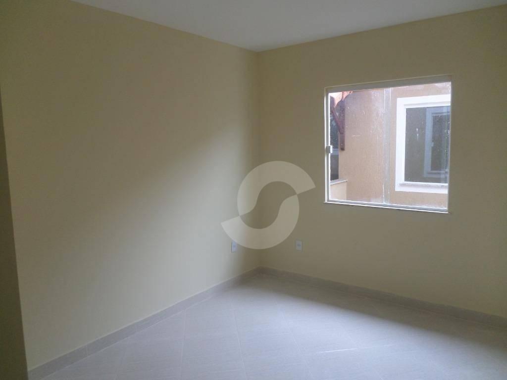 casa 1ª locação de 2 quartos em cond. fechado, jardim califórnia, são gonçalo. - ca1365