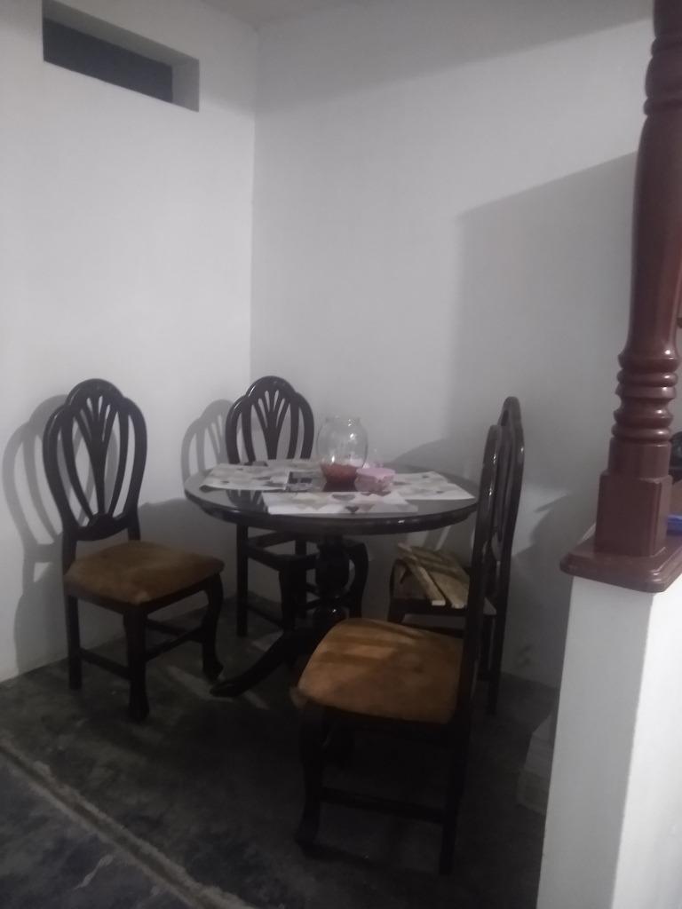 casa 1 piso 3hab, sala, cocina, comedor, baño y patio grande