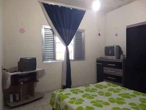casa 2 dorm, lado praia em itanhaém, centro comercial.