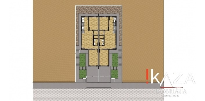 casa - 2 dorm - palhoça/sc - 1300