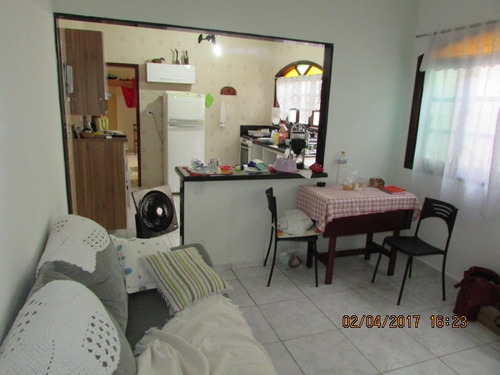 casa 2 dormit.+ suite + churrasqueira lado praia -  ca 0048
