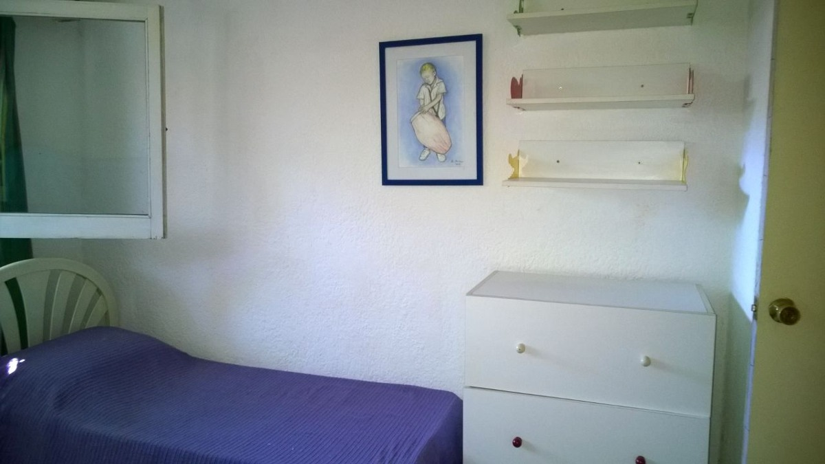 casa 2 dormitorios 7 pers. a una cuadra de la playa la barra