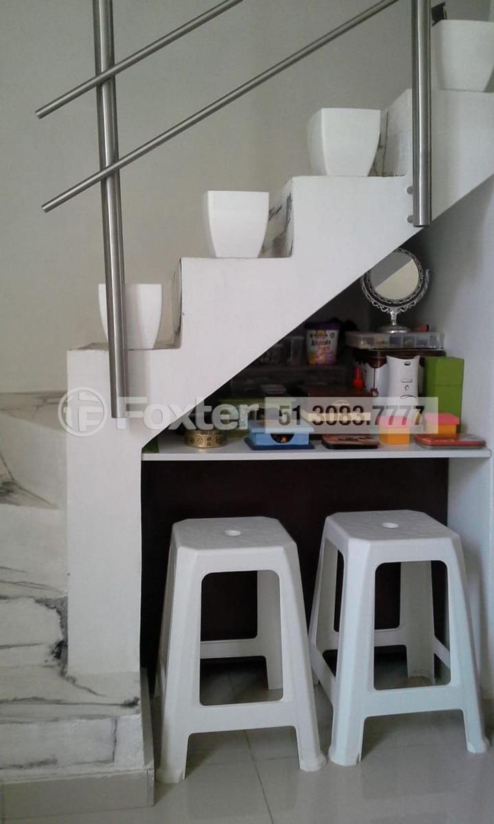 casa, 2 dormitórios, 70 m², são josé - 173624