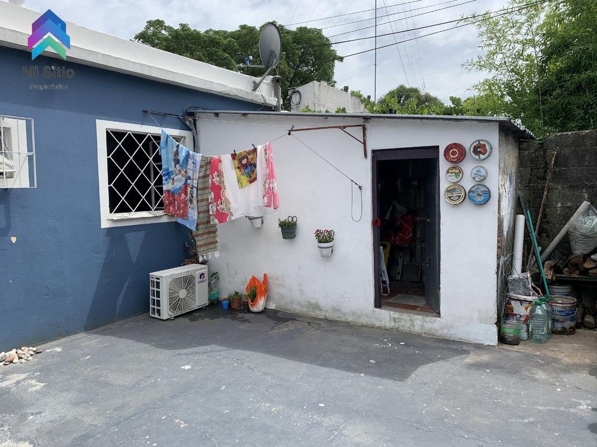 casa 2 dormitorios jardín, patio,lugar auto, maroñas