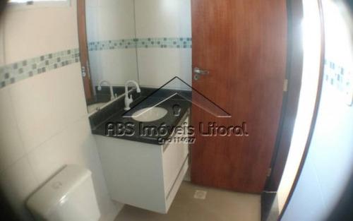 casa 2 dormitórios no maracanã praia grande - sp - ca857