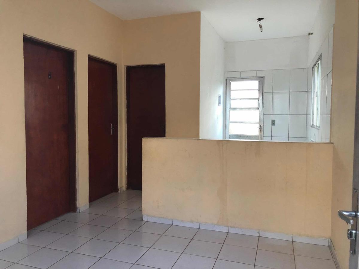 casa 2 dormitórios, sala, cozinha, banheiro 60m2