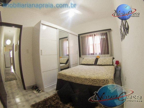 casa 2 dormitórios, vila mirim, praia grande. - ca3297