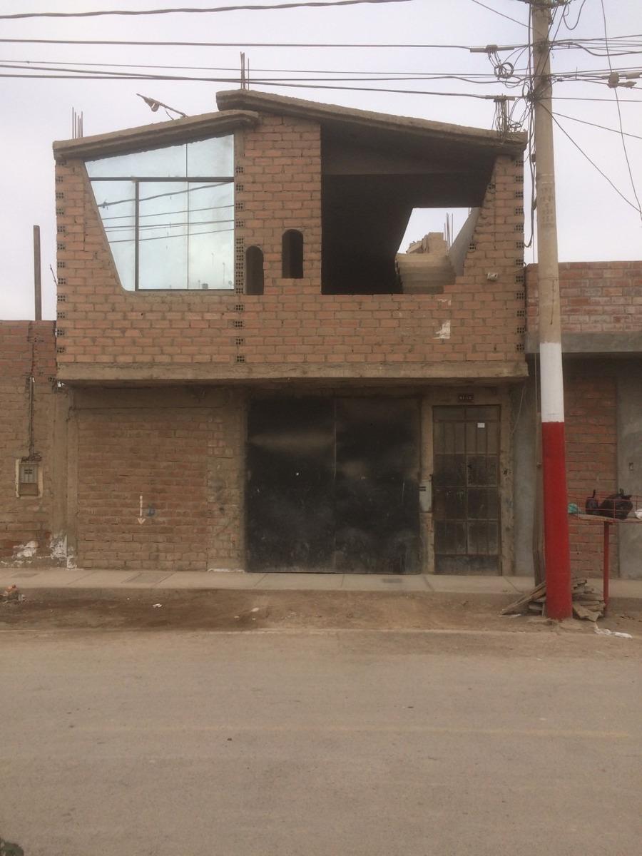 casa 2 pisos, incluye aires smp chuquitanta por av paramonga