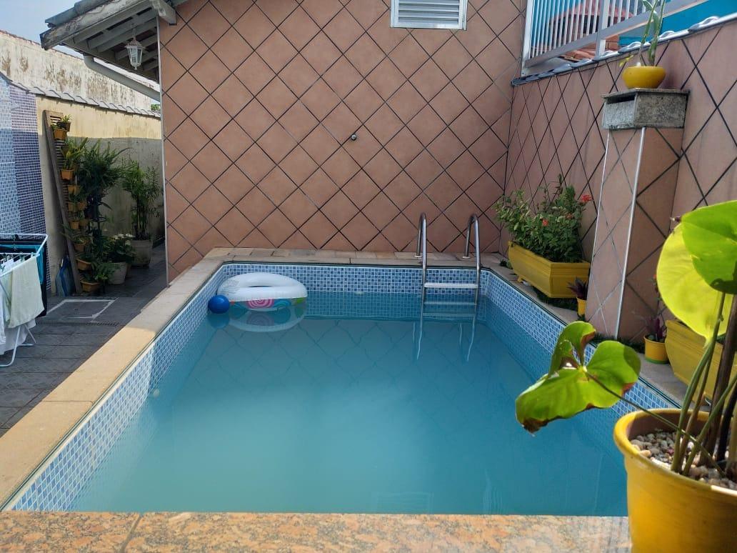 casa 2 qtos(suite)+edícula, 4 gar,, piscina c/cascata $ 250.