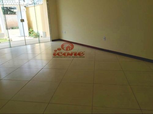 casa 2 quartos, 1 suíte, churrasqueira, itaipuaçu - 489