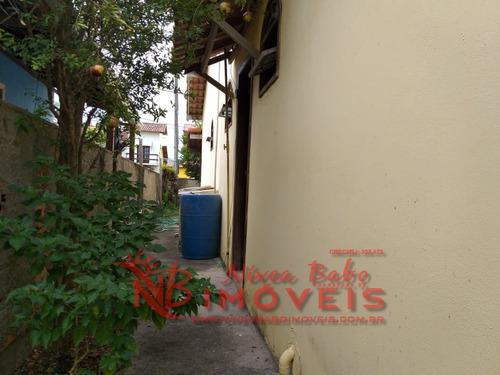 casa 2 quartos com mobília, lado praia, unamar, cabo frio - vcap 150 - 33748996