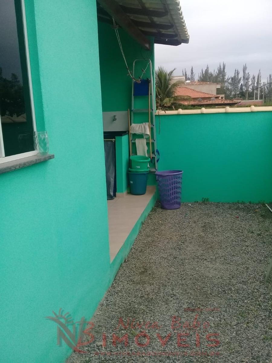 casa 2 quartos com suíte, lado praia, unamar cabo frio - vcap 111 - 32935823