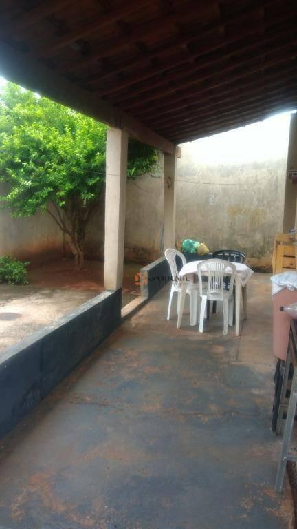 casa 2 quartos sendo 1 suíte, jardim gimenez, sertãozinho - ca1319