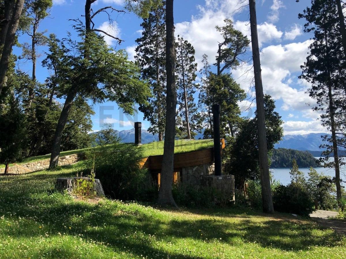 casa 211m2 en b.náutico, costa de lago n.huapi villa la angostura uf pb 1c