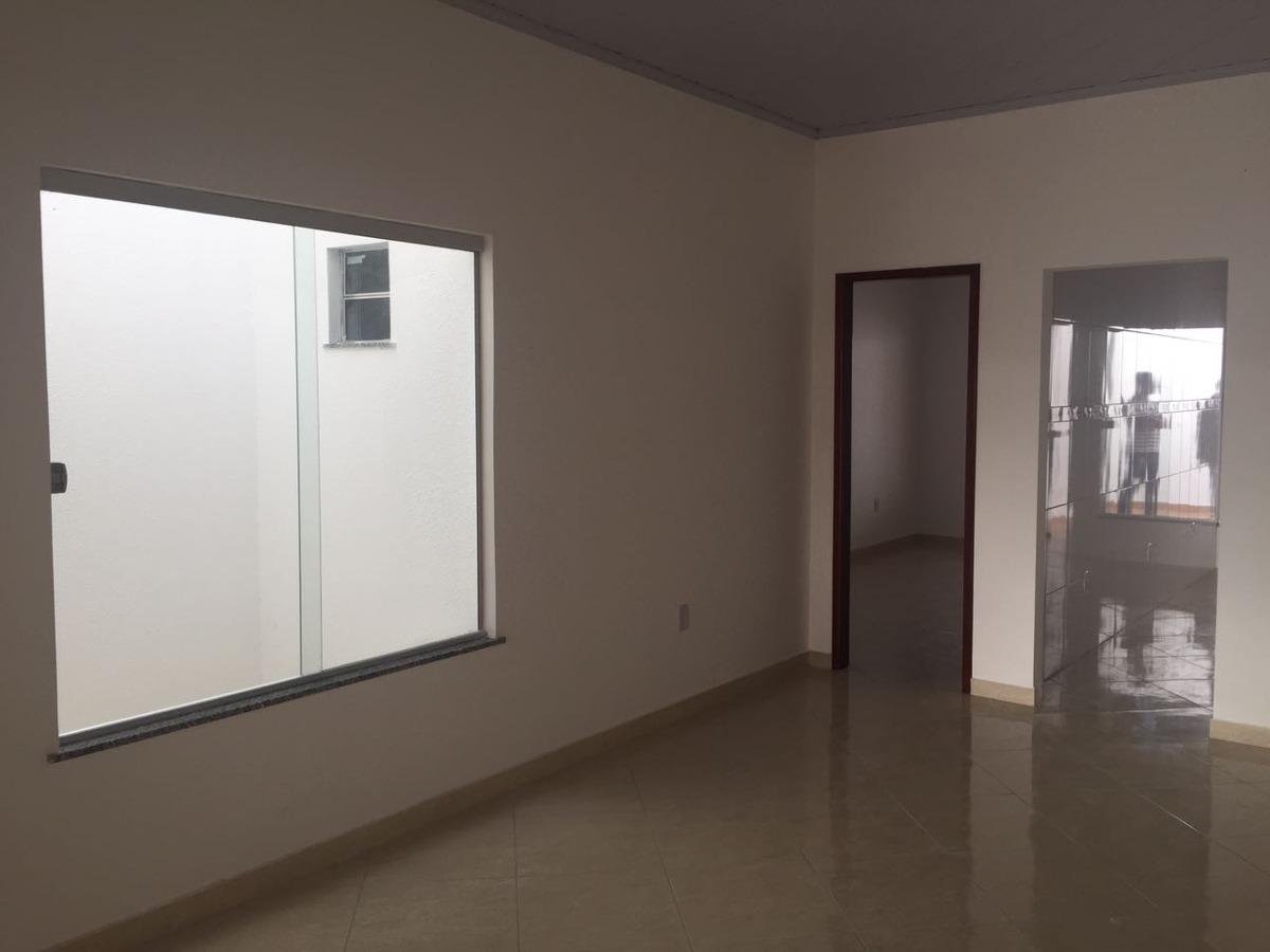 casa 2/4 com suite,escritura grátis,porcelanato