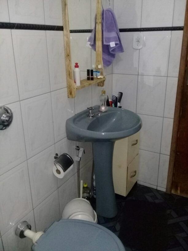 casa 2quartos sala banheiro cozinha conjugada com a copa gar