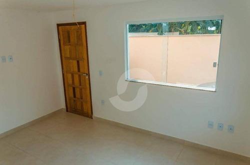 casa 2suítes em mini condomínio 1ªlocação. - ca0624