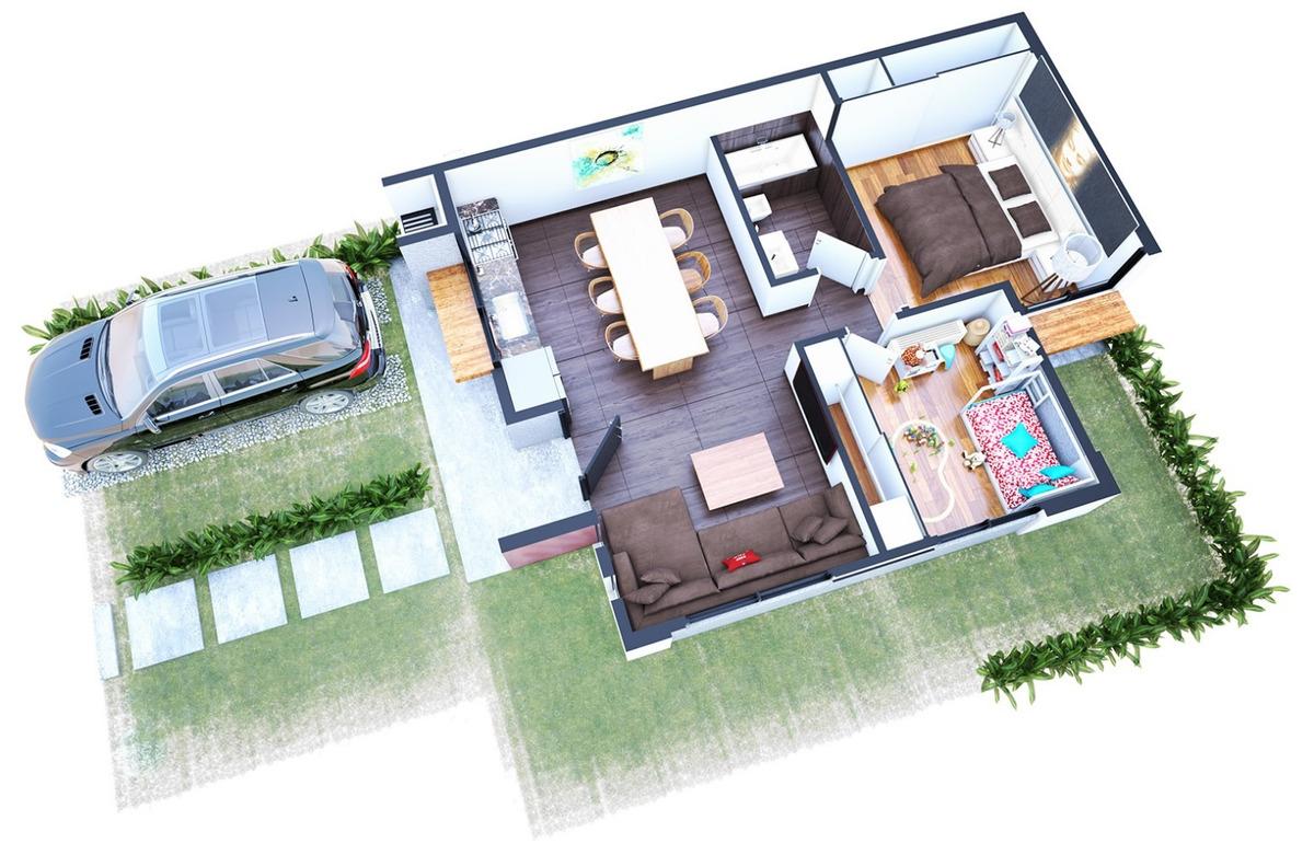 casa 3 ambientes