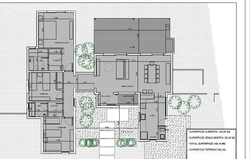 casa 3 ambientes en venta - san matias