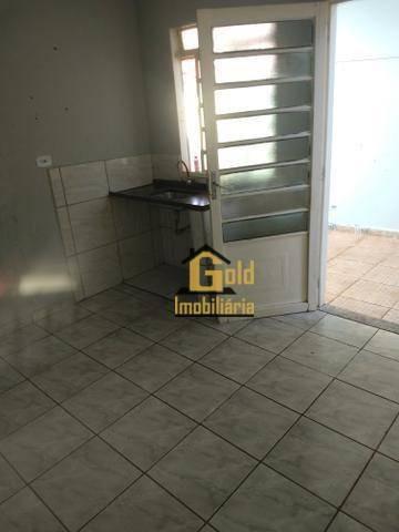 casa 3 cômodo para locação r$560 / mês - jd. paiva  -  ribeirão preto sp - ca0663