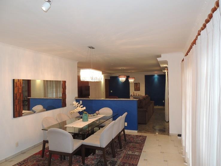 casa 3 dorm 2 stes + casa hóspedes 'mobiliada' condomínio