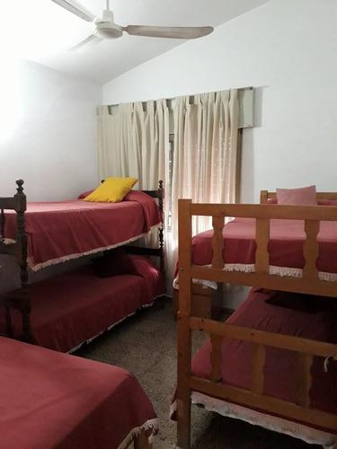 casa 3 dorm. coch. 3 autos. 2 baños (10 personas)