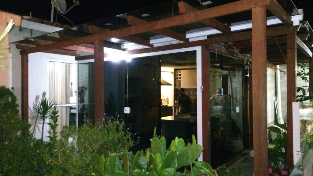 casa 3 dorm com suíte no cond. terra nova , varanda, 2 vagas - ca1902