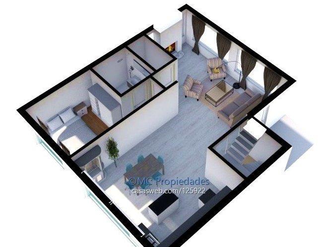 casa 3 dormitorio y servicio sobre rambla
