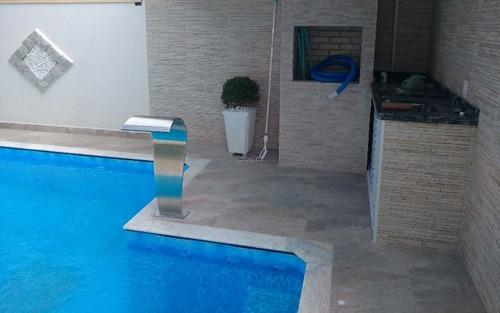 casa 3 dormitórios alto padrão no jardim imperador praia grande - sp