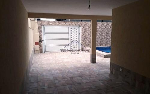 casa 3 dormitórios com piscina no jardim real em praia grande-sp