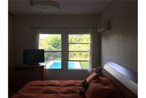 casa 3 dormitorios + dep en b. privado septiembre