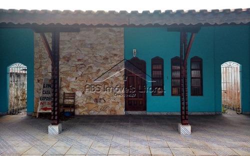 casa 3 dormitórios na vila caiçara em praia grande - sp
