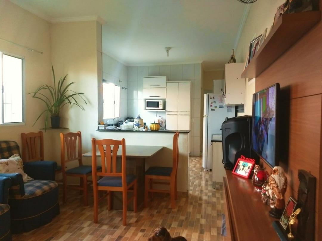 casa 3 dormitórios r$ 130 mil á vista  mongaguá - 3828