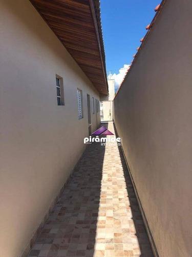 casa 3 dormitórios / suíte , 74 m² por r$ 215.000 - balneário dos golfinhos - caraguatatuba/sp - ca4740