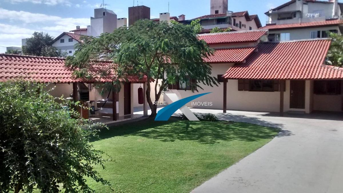 casa 3 dormitórios à venda, 170 m² por r$ 1.500.000 - jurerê - florianópolis/sc - ca0758