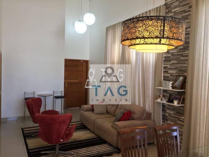 casa 3 dormitórios à venda no condomínio yucatan em paulínia/sp. - ca0041