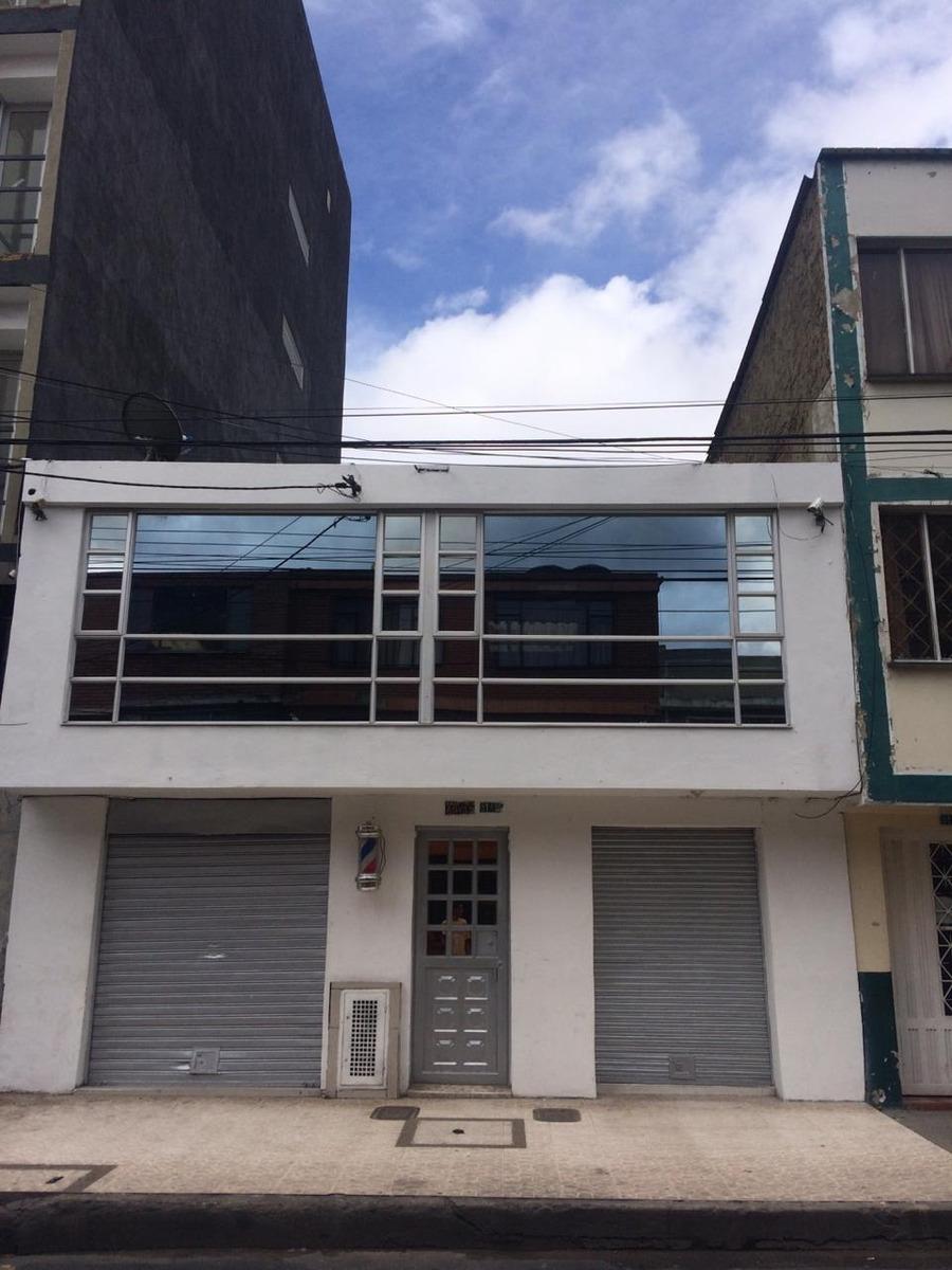 casa 3 pisos con 2 locales en avenida comercial