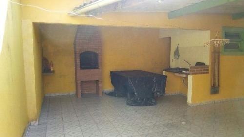 casa 3 quartos, edícula, churrasqueira! lado praia, itanhaém