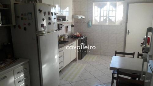 casa 3 quartos, piscina e churrasqueira à venda, praia de cordeirinho (ponta negra), maricá. - ca2540