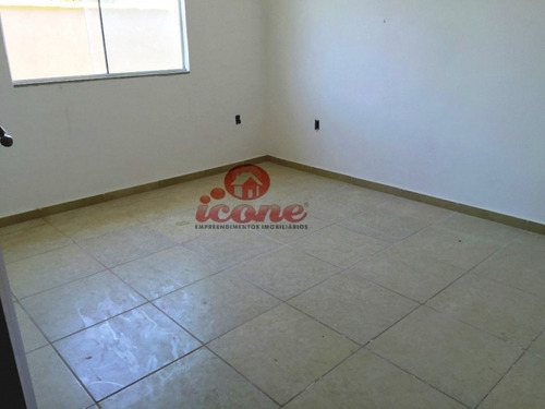casa 3 quartos, terreno com 480m², itaipuaçu - 504