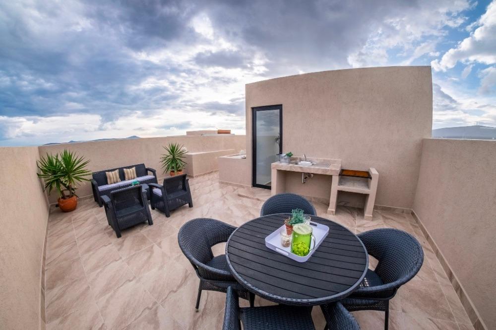 casa 3 recamaras 2 1/2 baños roof garden, excelente vista